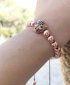 دستبند سنگ حدید سواروسکی