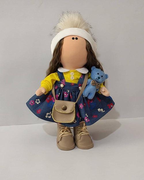 عکس عروسک روسی طرح بهار 1